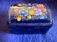 Little Hand Painted Mexican Box