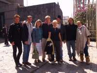 Part of our Teotihuacan group in...