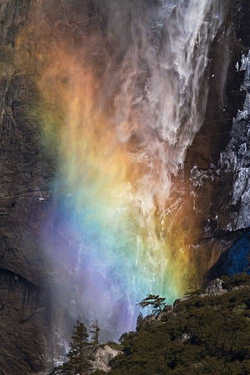 Fire Water Fall Rainbow