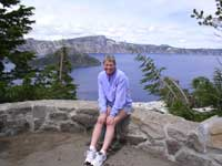 Crater Lake, OR July 2005...
