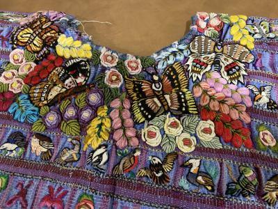Exquisite Antique Guatemalan Ponchos